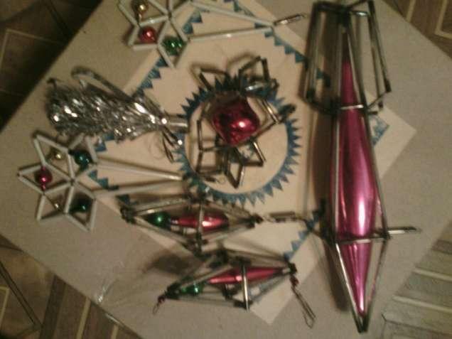 Старинные Новогодние игрушки