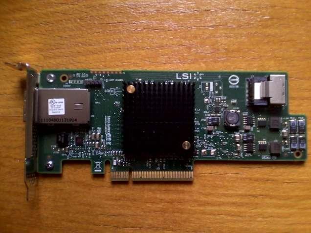 LSI SAS 9207-4i4e SAS/SATA 6Gb/s 8-Port PCI-E 3.0 x8 HBA
