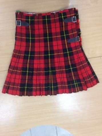 d16acc852 Шотландский килт в чёрно-красную клетку (юбка - набедренная повязка)