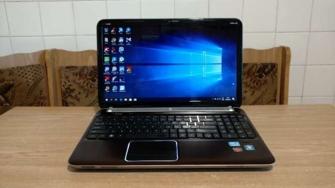 Ноутбук HP Pavilion DV6, 15,6'', i7-2670QM 4 ядра, 8GB, 500GB, AMD Rad