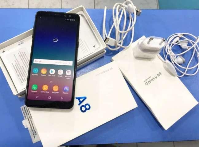 Samsung Galaxy A8 2018 на 2 сим карти орыгинал