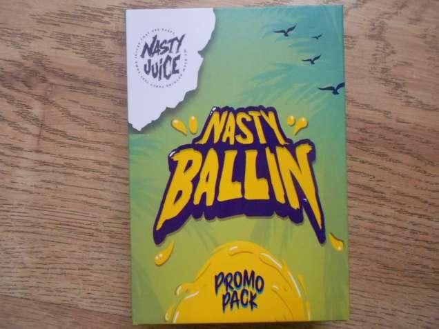 Жидкость Nasty Ballin Juice 3 вкуса по 60 ml для электронных сигарет