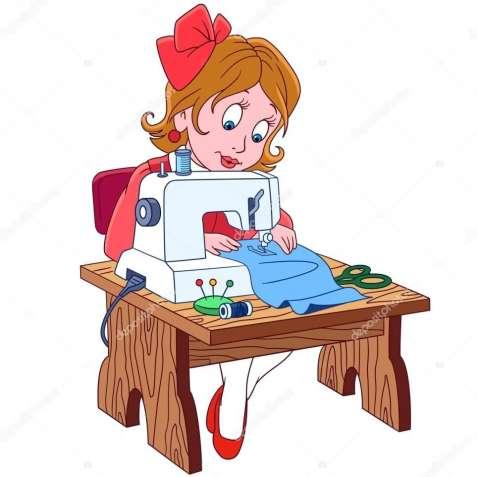Вышивальщица на тамбурную машину