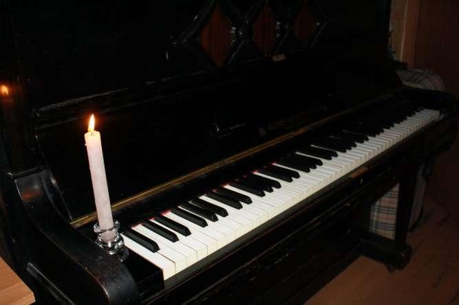Фортепиано Adolf Ernst Voigt (клавиши из слоновой кости)