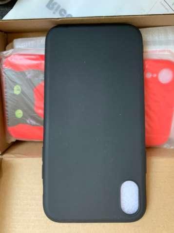 Чехол для iPhone XR (черный)