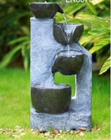 Фонтан декоративный Каменный каскад №9539