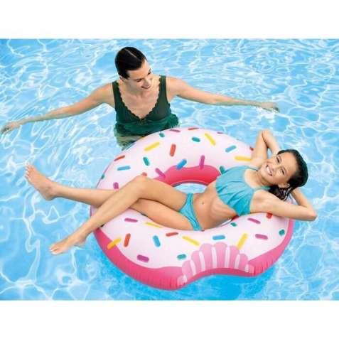 То продаж 2018! Большой надувной круг Intex «пончик» 107 см!!