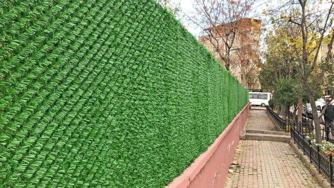 Декоративна огорода Декоративный парка Забор зеленый