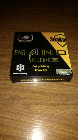 Шнур SeaKnight nano line