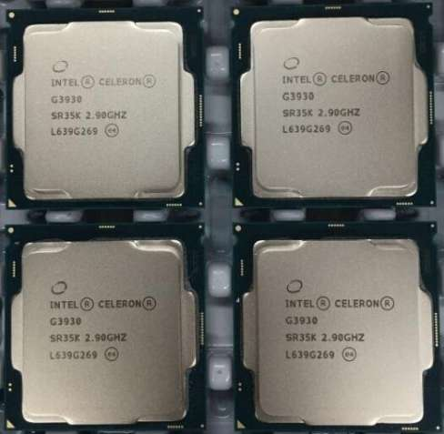 Процессоры INTEL Celeron G3900 \ G3930 S1151 В наличии 120шт!