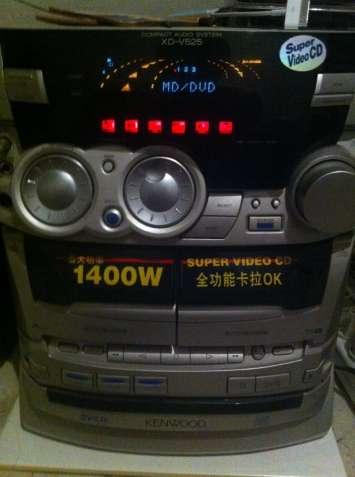 Продам музыкальный центр Kenwood XD-V525