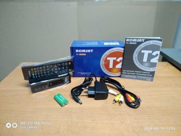 Т2 Romsat TR-9000HD гарантия 12 месяцев. Магазин