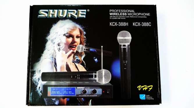 Радиосистема Shure KCX-388 база 2 радиомикрофона - изображение 2