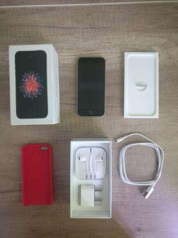 iPhone SE 32 Gb Neverlock, в идеальном состоянии, на гарантии