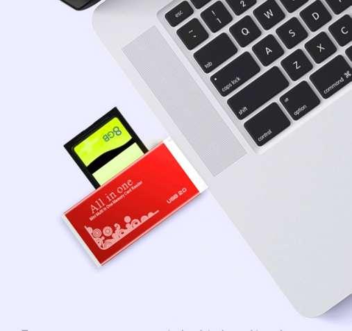 Кардридер универсальный USB 2.0 - зображення 5