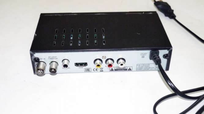 Mstar M-6010 Внешний тюнер DVB-T2 USB+HDMI с возможностью подключить W - изображение 5
