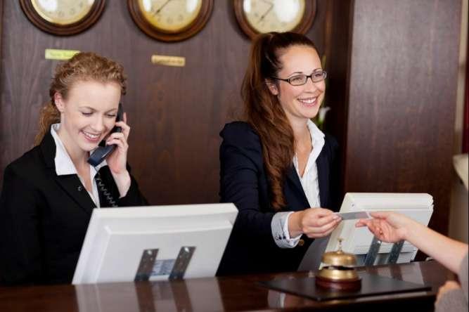 Администратор в отель