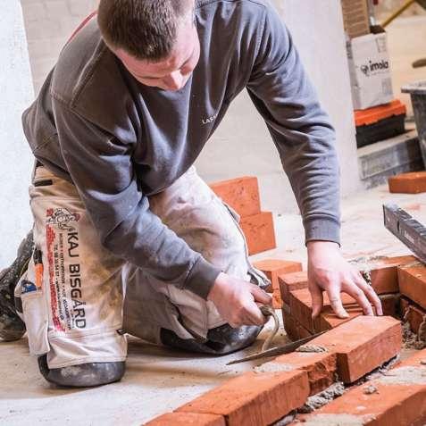 Работа для каменщиков в Дании