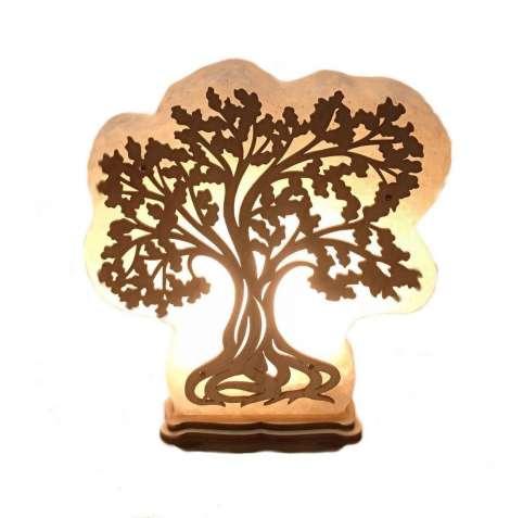 Соляной светильник Дерево