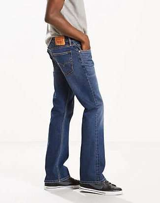 Джинсы LEVIS 527™ Slim Boot Cut Jeans разм.: 36x32