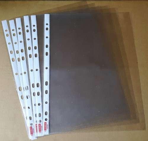 Файл-карман 10 шт. Esselte А4 55 мкм глянцевый прозрачный (56066)