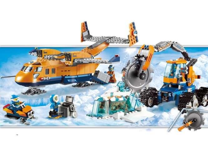 Конструктор JVToy 24011 «Арктическая экспедиции»