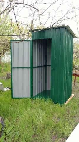 """Летний душ, туалет для дачи. """"Броневик"""" Днепр."""