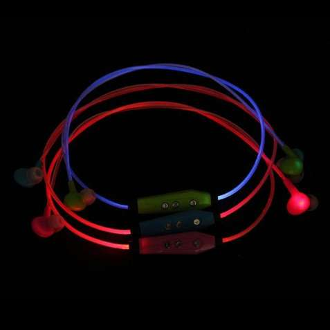 Спортивні безпровідні навушники, що світяться у темряві!