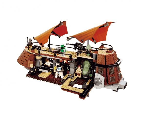 Конструктор JVToy 26002 Парусник Джаббы, серия Звездные Приключения