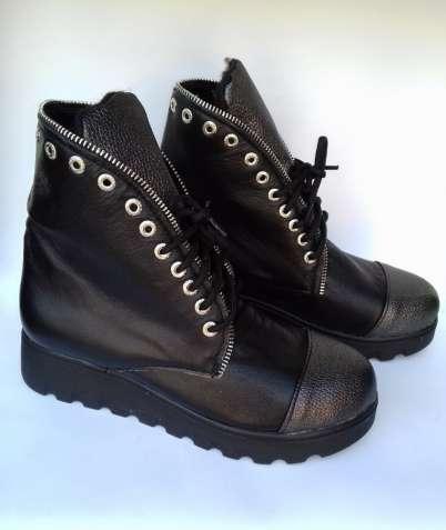Кожаные ботинки женские демисезонные 39 размера Распродажа / шкіряні ч