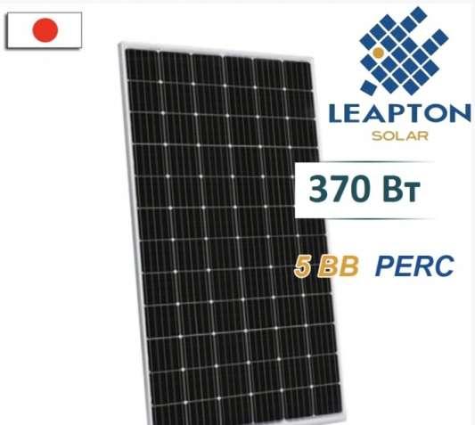 Солнечная панель Leapton, солнечная панель монокристалл, купить
