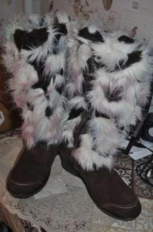 Шикарные сапоги- унты зима германия