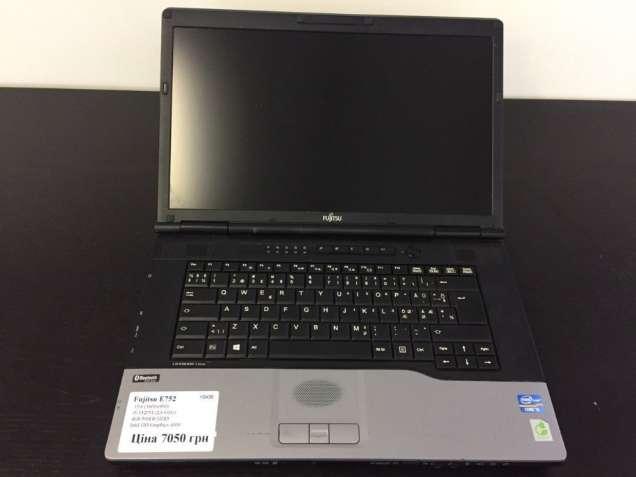 """Ноутбук Fujitsu E752 15.6"""" HD+ i5-3320m 4Gb RAM 500Gb HDD"""