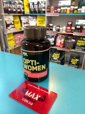 Лучшие витамины для женщин OPTI-WOMEN 60 caps