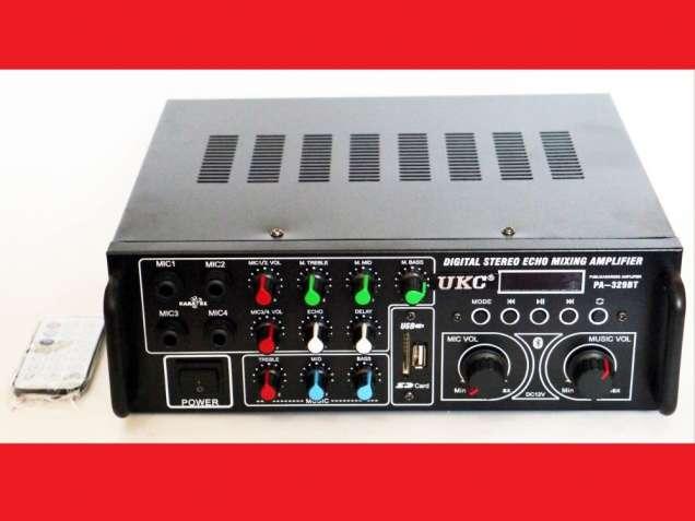 UKC AV-329BT Bluetooth Караоке усилитель мощности звука