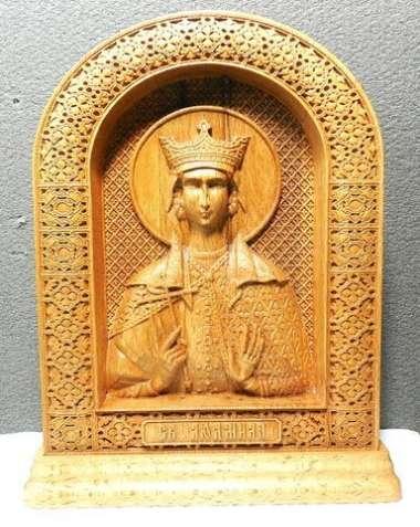 Икона Св. Людмила на постаменте (под заказ)