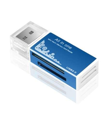 Кардридер универсальный USB 2.0 - зображення 4