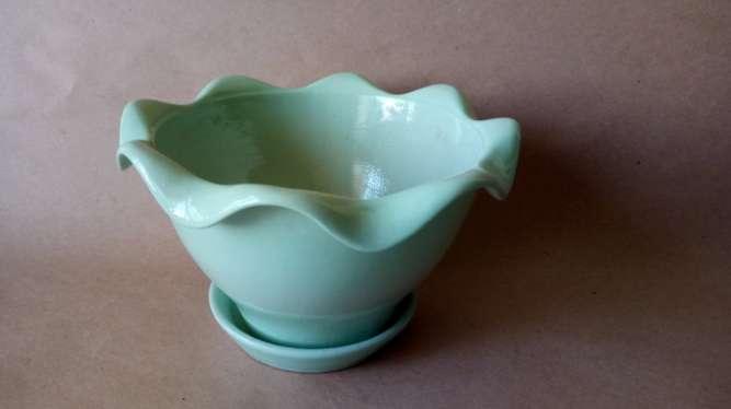 горшок/вазон цветочный керамический