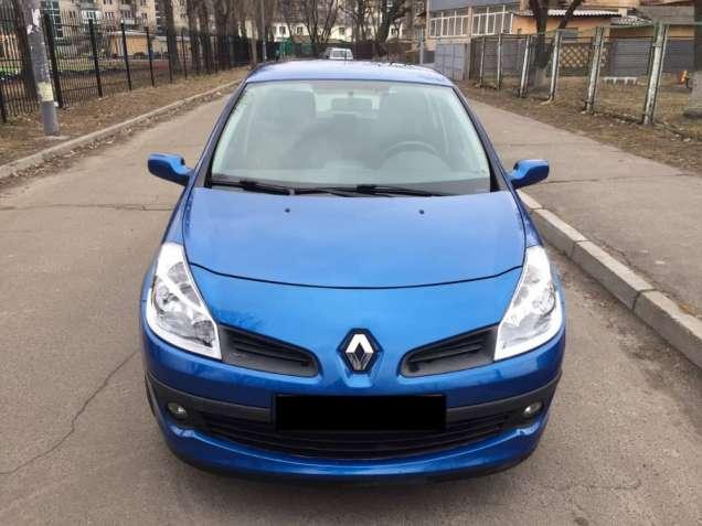 Аренда авто с правом выкупа. Автомобиль Renault Clio-3, 2006 г