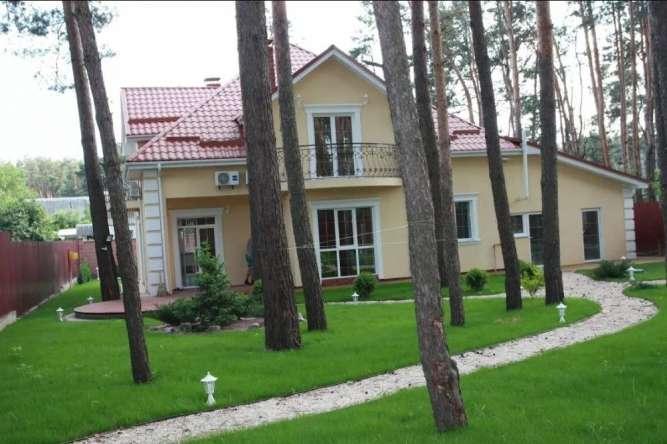 Коттедж  200м2 с лесом на участке, Белогородка