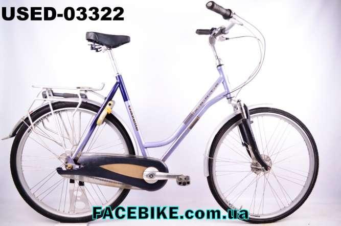 БУ Городской велосипед Gazelle-Гарантия,Документы-у нас Большой выбор!