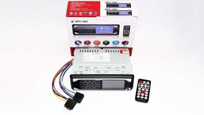 Автомагнитола Pioneer 3882 ISO - MP3 Player, FM, USB, SD, AUX сенсор