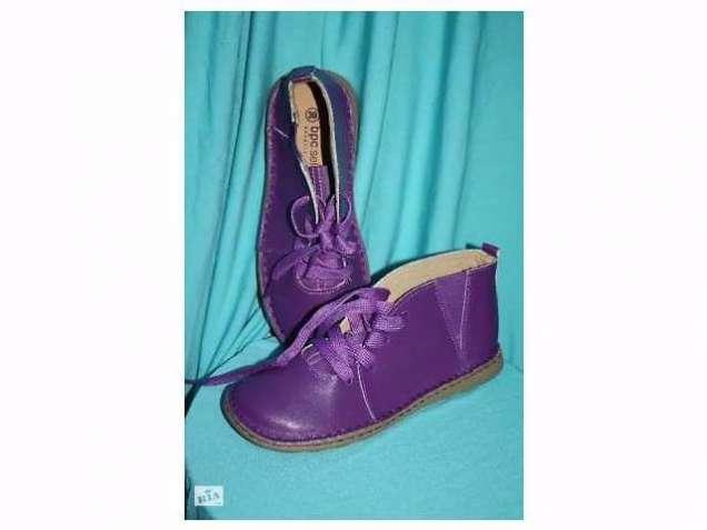 Кожаные утепленные ботинки. bpc selection premium Германия