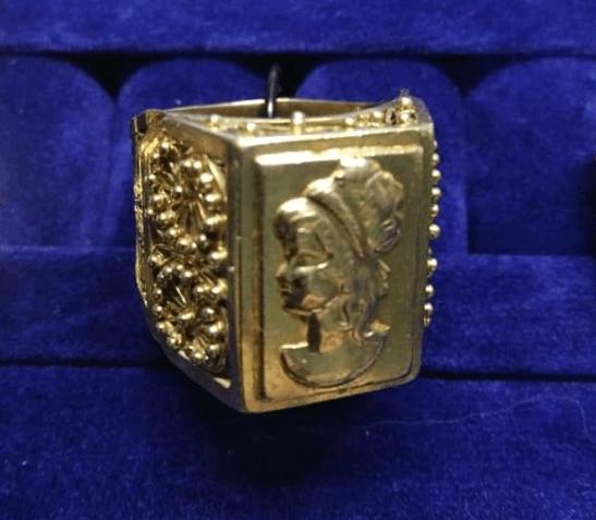 Печатка золотая 583 проба