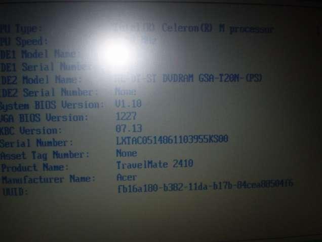 Продам матрицу Aser TravelMate 2413CL