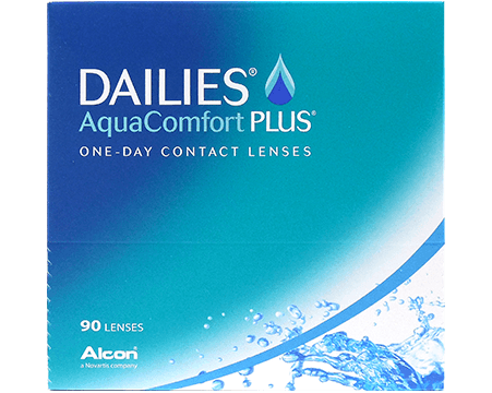 Линзы Dailies AquaComfort Plus (90 шт)