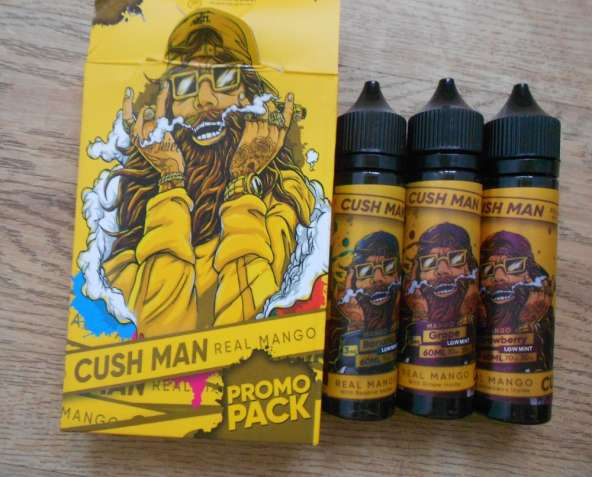 Жидкость Nasty Cush Man Juice 3 вкуса 60 ml для электронных сигарет