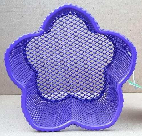 Металлическая подставка-стаканчик для ручек ZiBi Цветок Фиолетовая - изображение 3