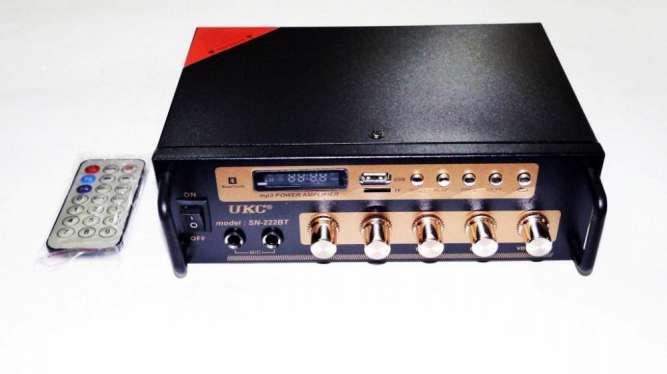 Усилитель UKC SN-222BT - Bluetooth, USB,SD,FM,MP3! Караоке 2х канальны