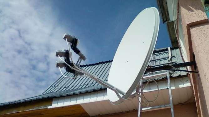 Спутниковое ТВ С Установкой! FullHD тюнер + youtube, megogo, IPTV.
